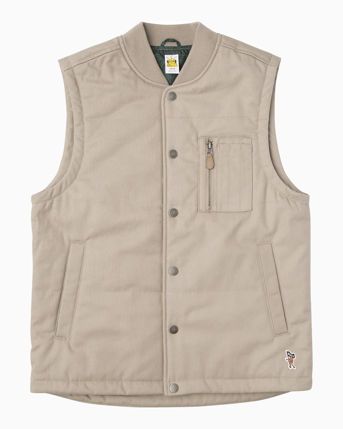 0 TOY MACHINE VEST  F1JKGDRVF7 RVCA