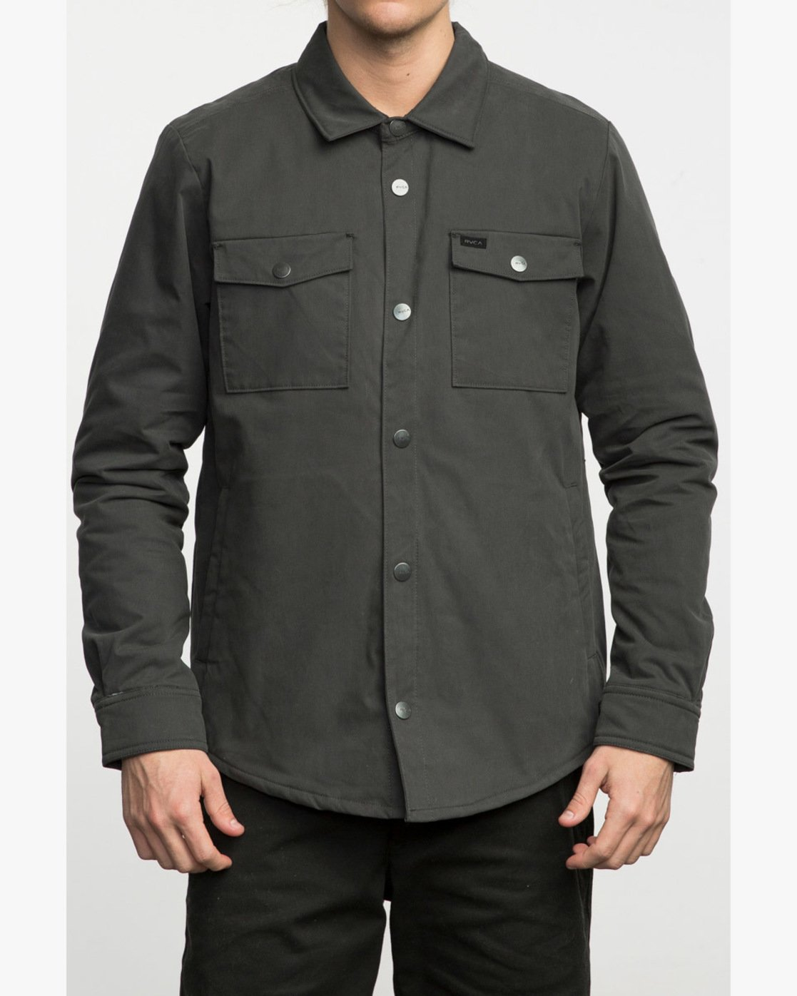 1 OFFICERS SHIRT JACKET  F1JKRCRVF7 RVCA