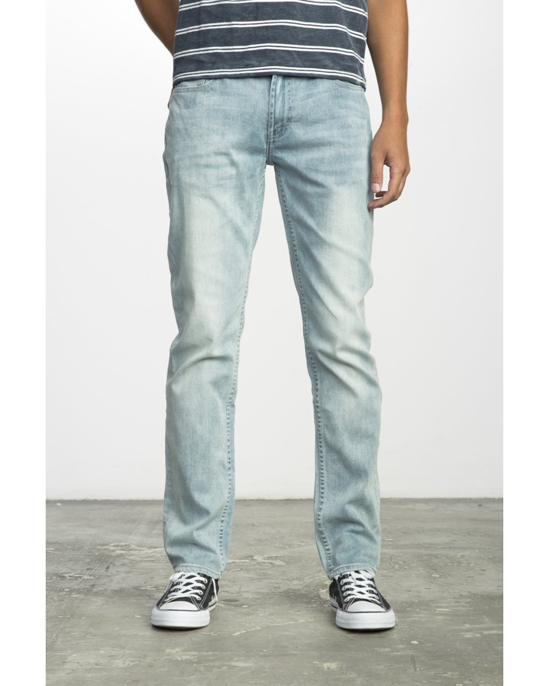 0 HEXED DENIM Blue F1PNSBRVF7 RVCA