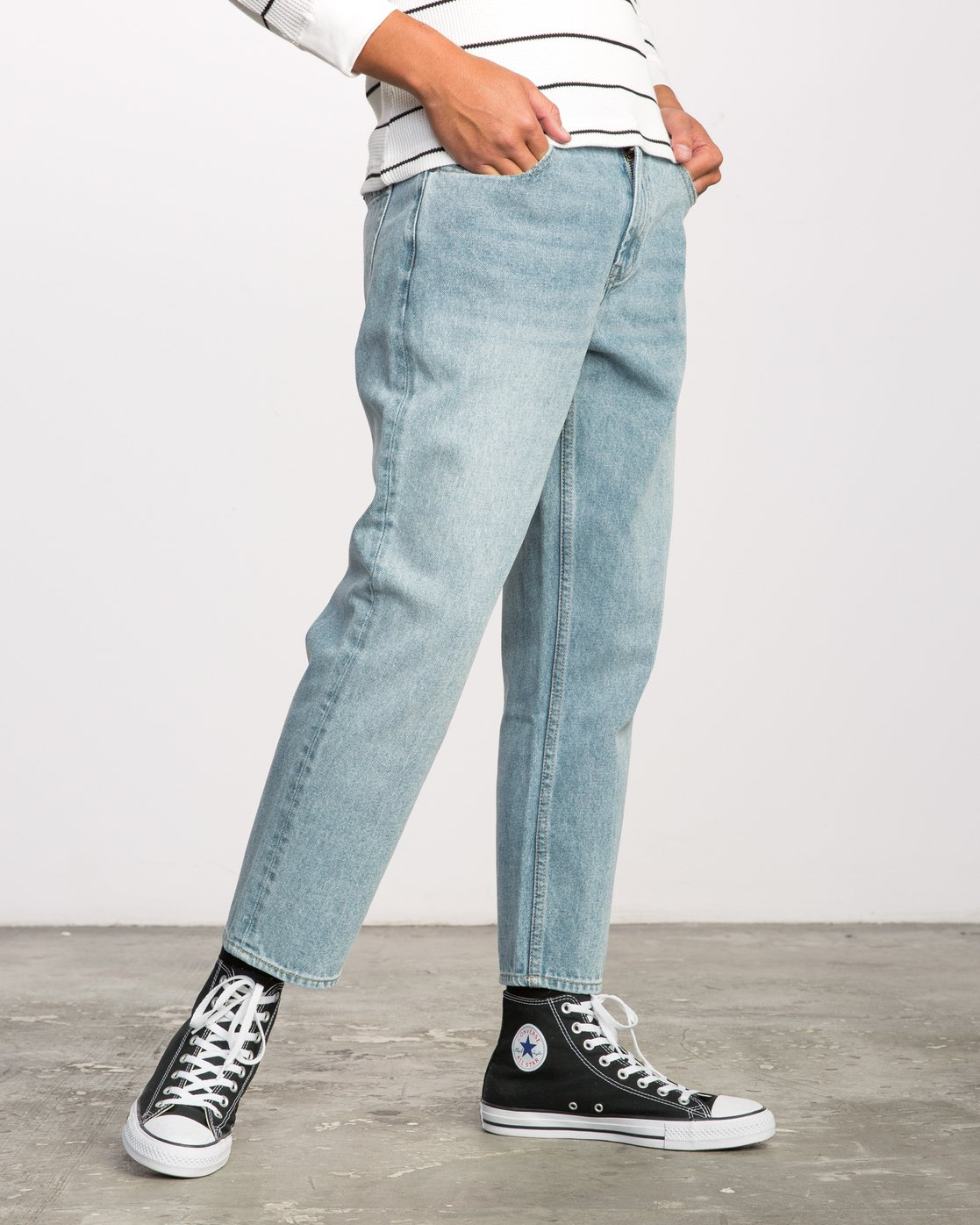 5 FLOOD DENIM-NEUTRAL  F1PNSERVF7 RVCA