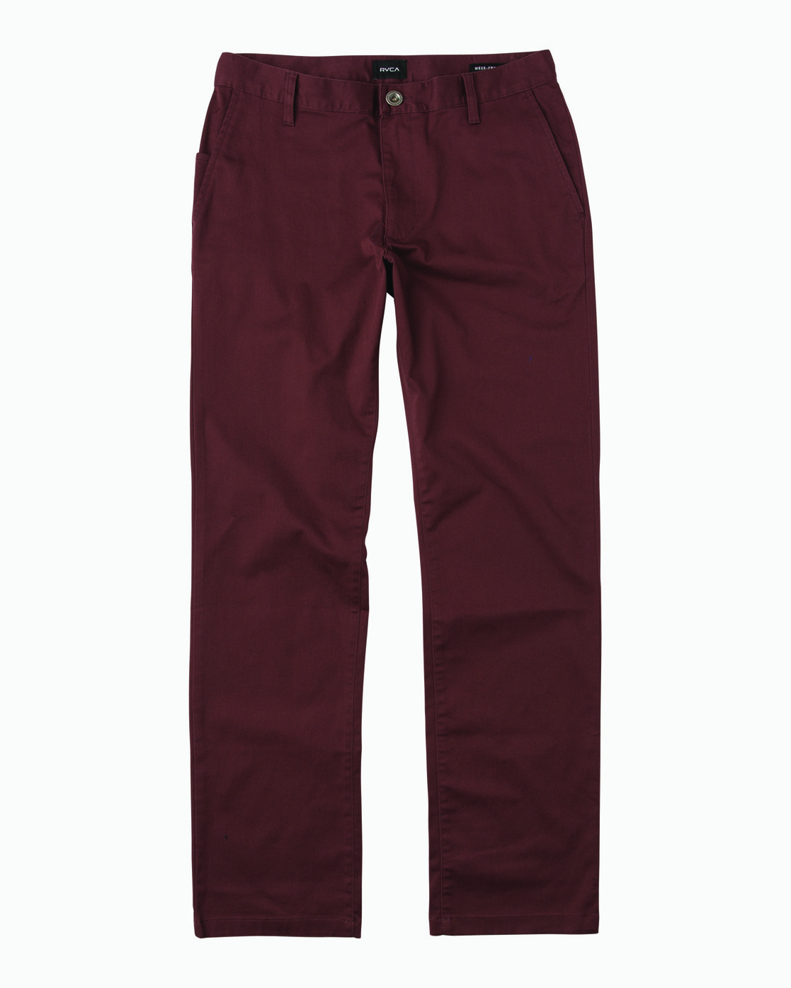 6 Weekend Stretch  - Trousers Red F1PTRARVF7 RVCA
