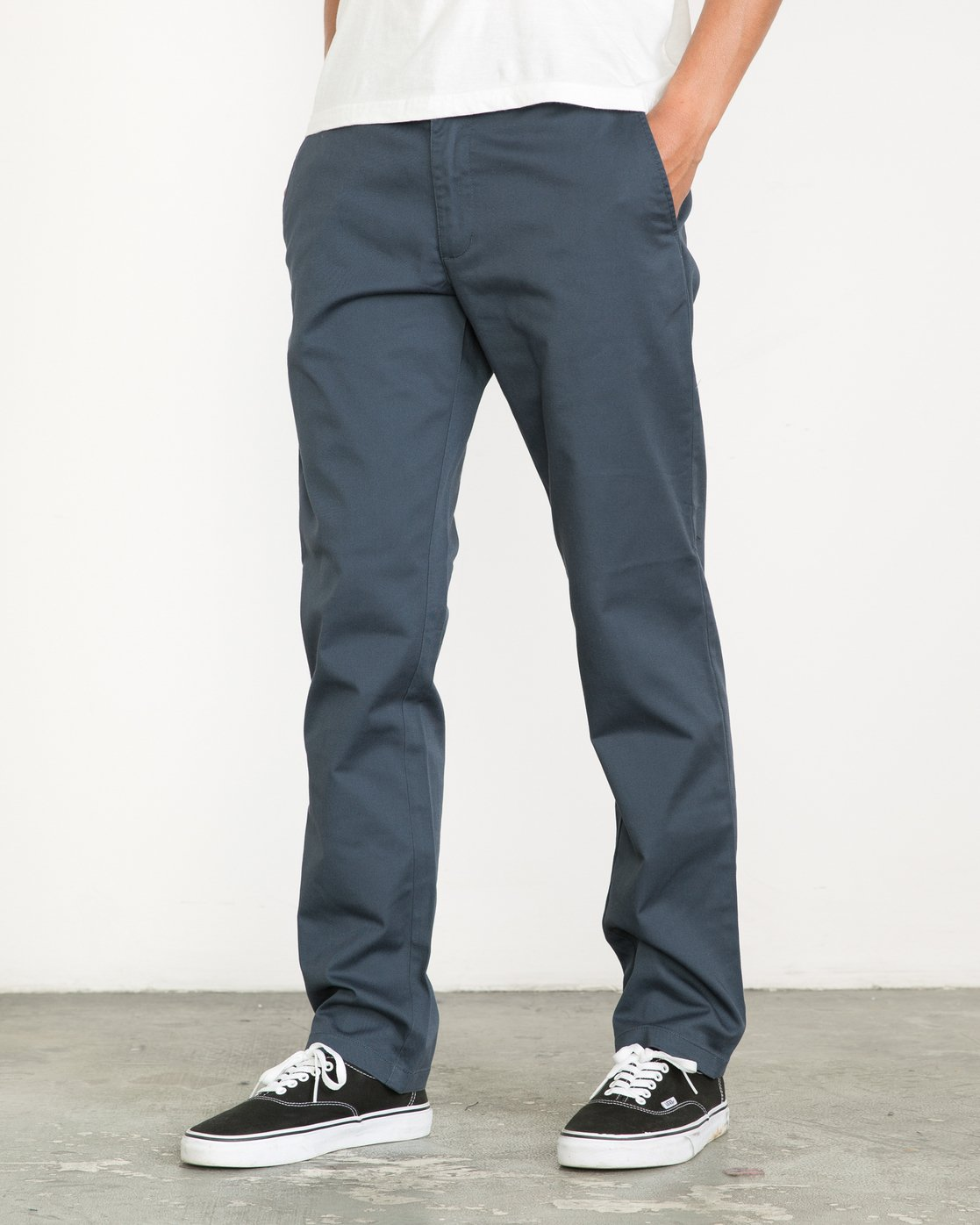 0 Weekend Stretch  - Pantaloni da Uomo Blue F1PTRARVF7 RVCA