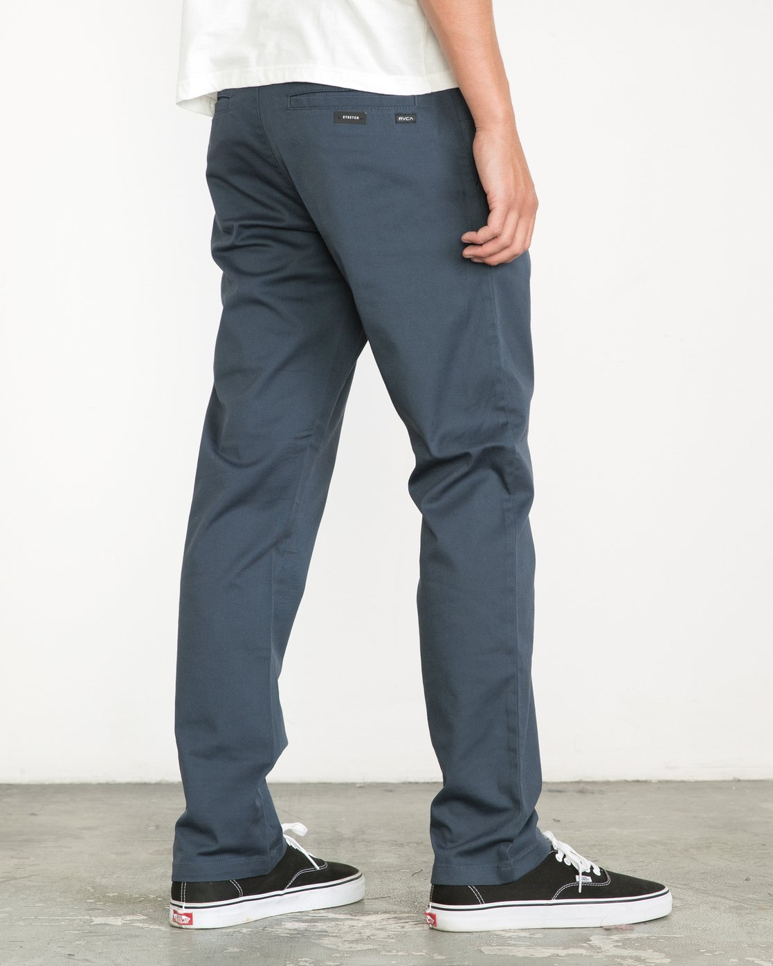 2 Weekend Stretch  - Pantaloni da Uomo Blue F1PTRARVF7 RVCA