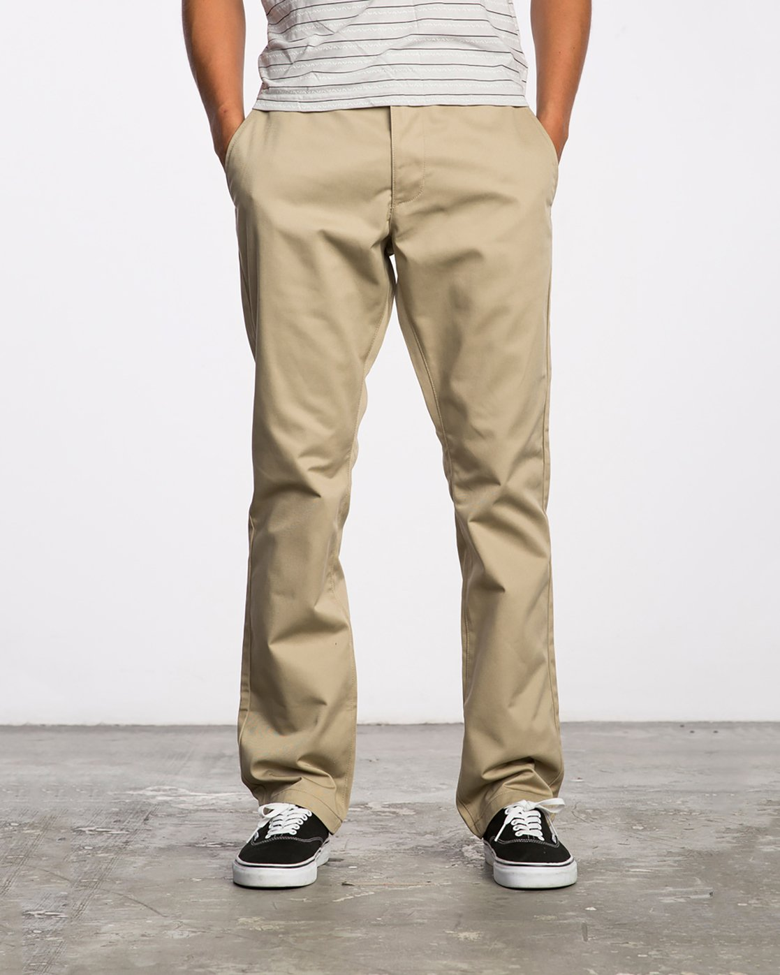 0 Weekend Stretch  - Trousers Green F1PTRARVF7 RVCA