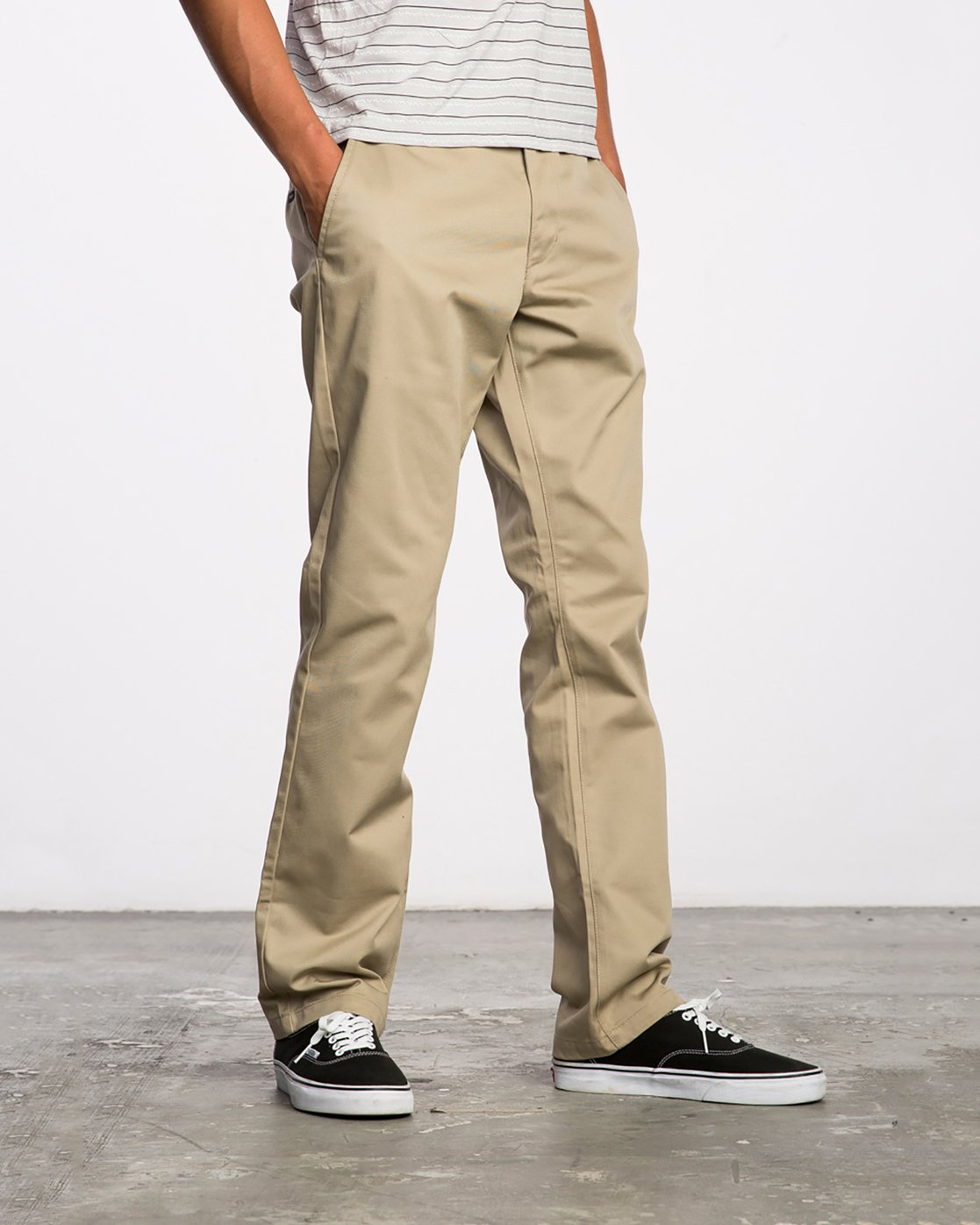4 Weekend Stretch  - Trousers Green F1PTRARVF7 RVCA