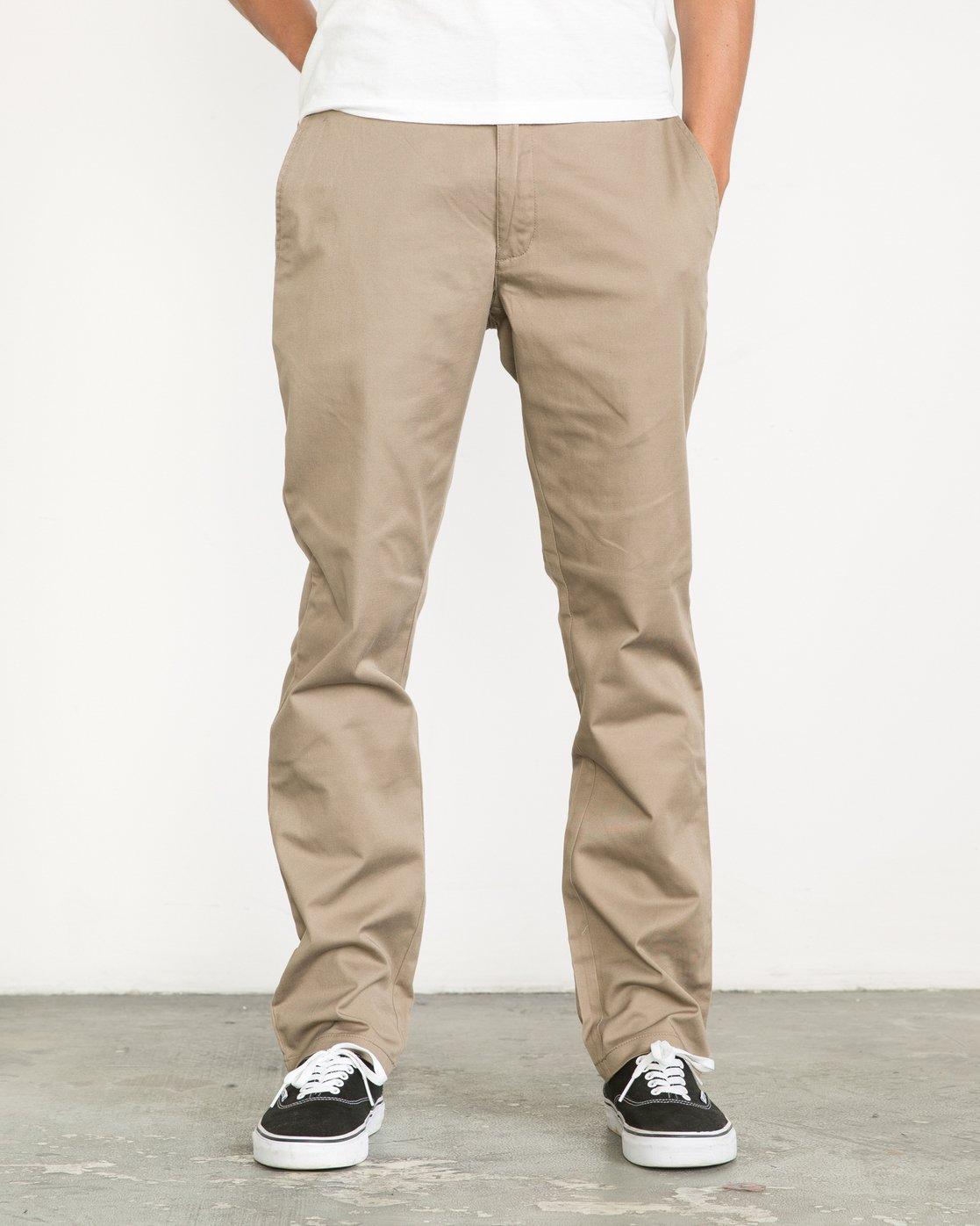 0 Weekend Stretch  - Trousers Green F1PTRARVF7 RVCA