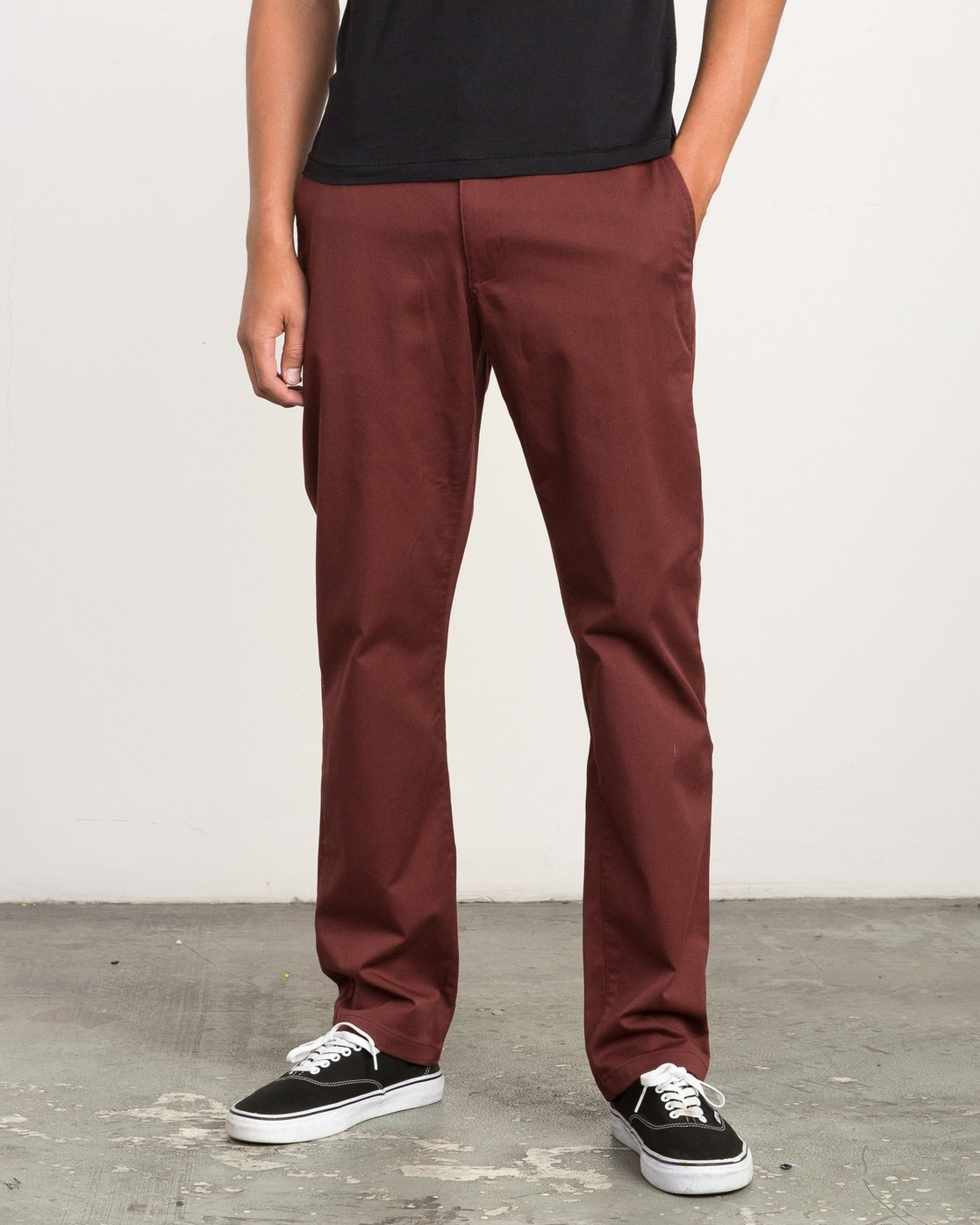 0 Weekend Stretch  - Trousers Red F1PTRARVF7 RVCA