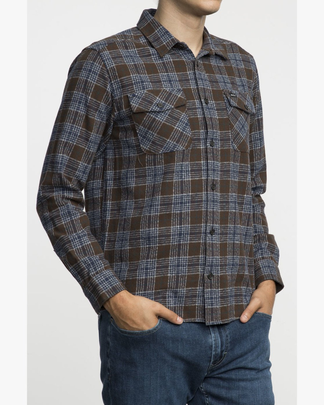 2 THAT'LL WORK FLANNEL  F1SHRIRVF7 RVCA