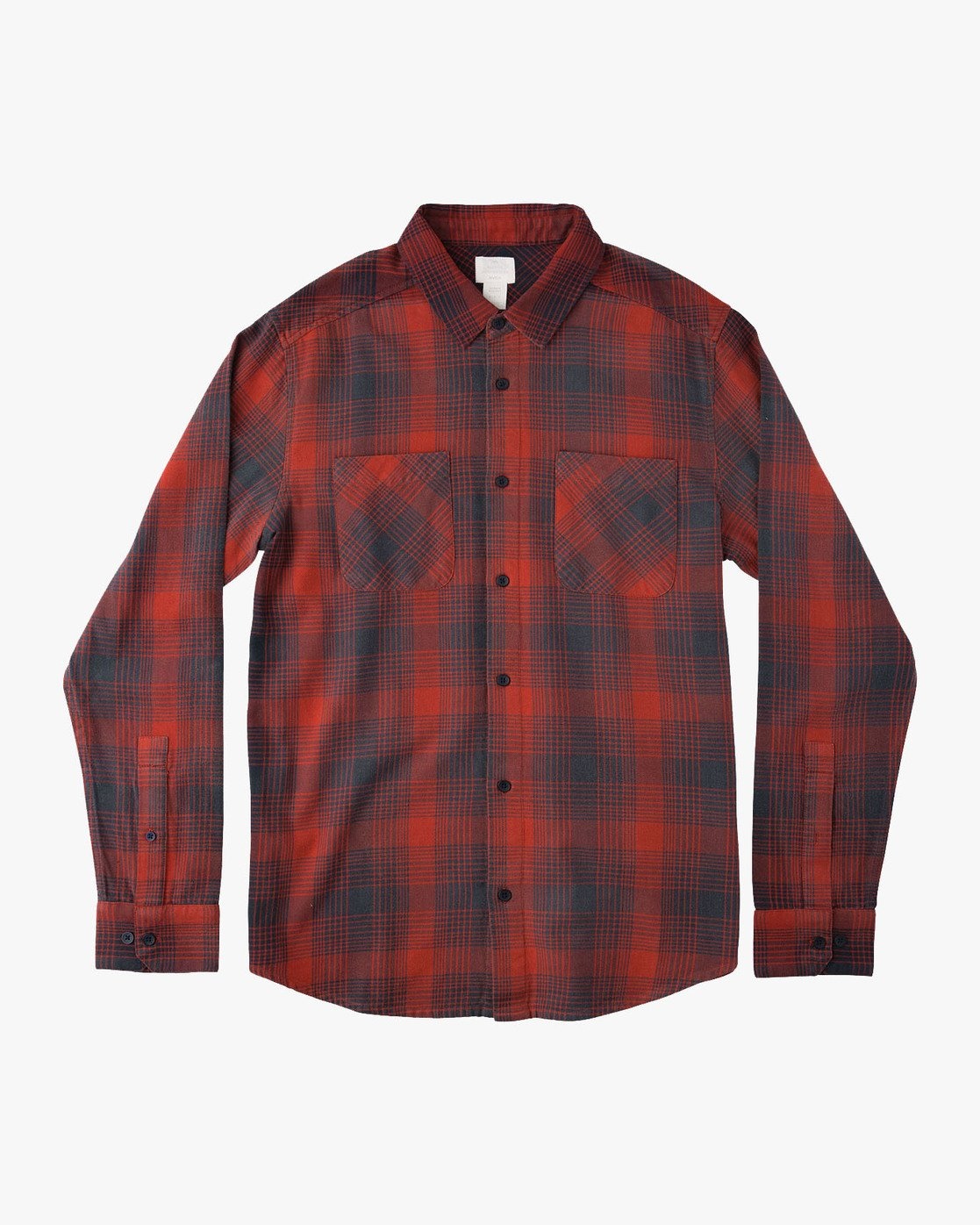 0 NEUTRAL PLAID LS  F1SHRNRVF7 RVCA
