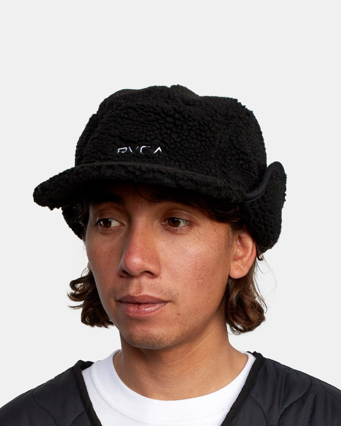 5 BOA FLEECE HOTH CAP Black GVYHA00100 RVCA