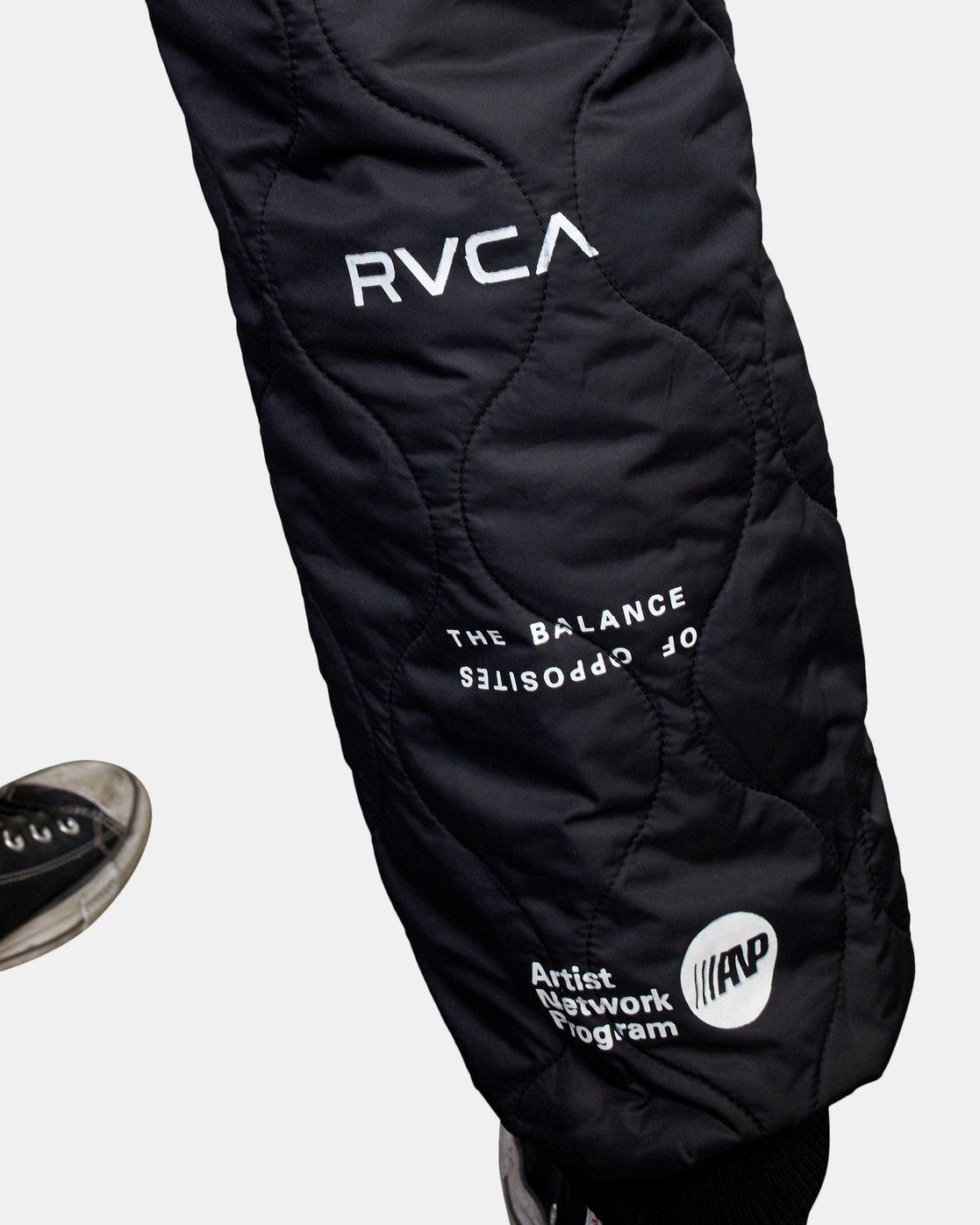7 Quilting Swift Pant Black GVYNP00100 RVCA