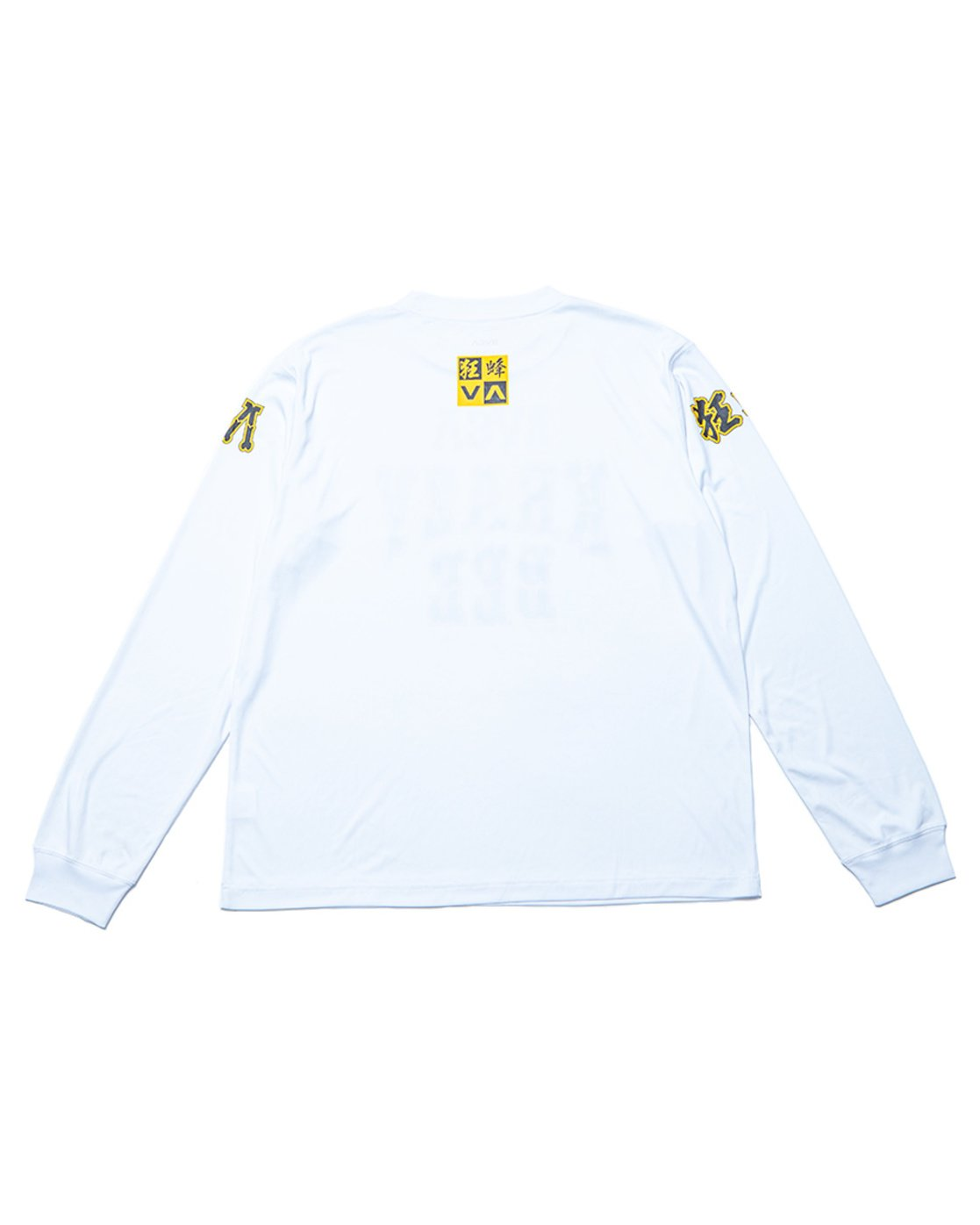 1 KRAZY BEE Long Sleeve Tee White GVYWR00100 RVCA
