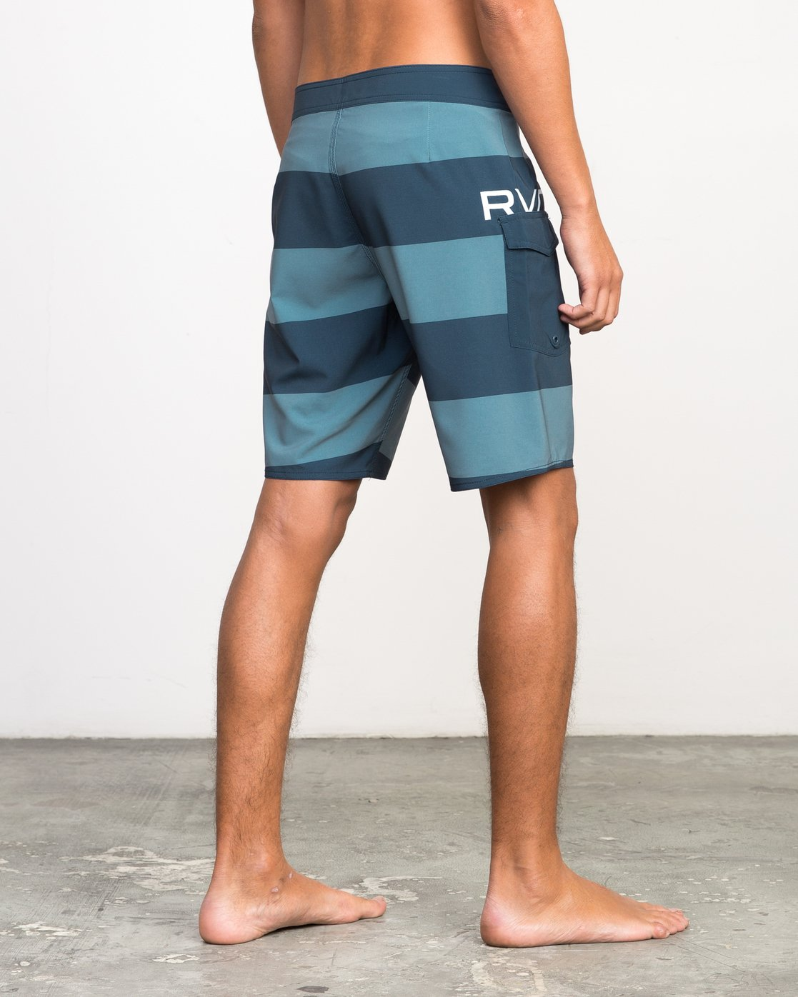 5 UNCIVIL STRIPE TRUNK  H1BSRDRVP8 RVCA