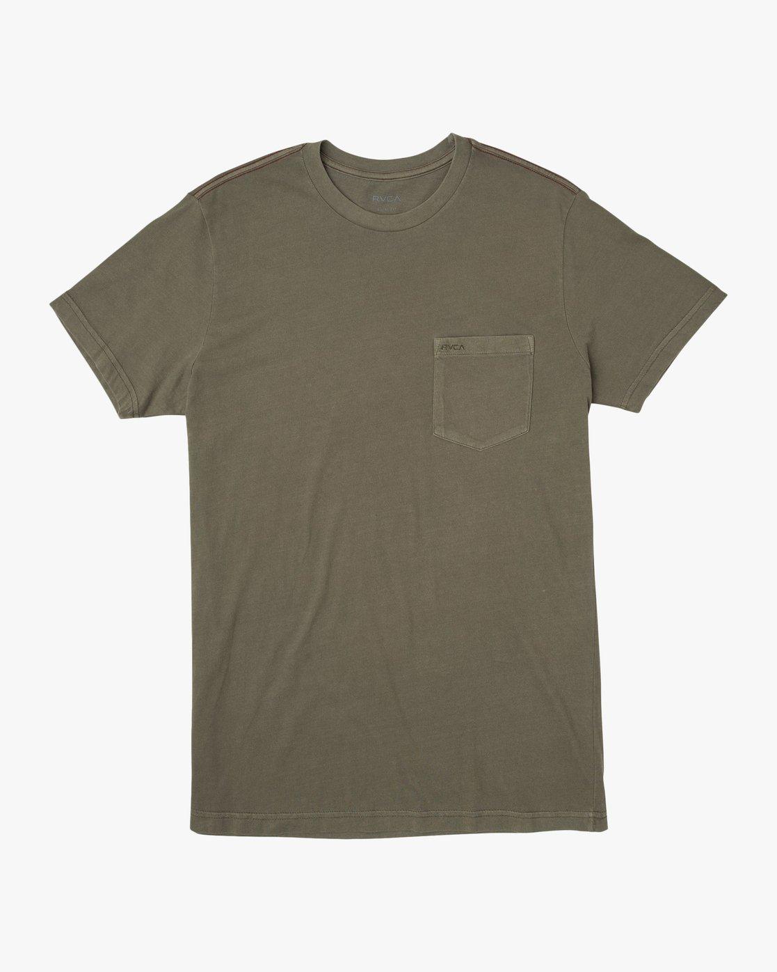 0 PTC 2 Pigment - T-Shirt pour Homme Vert H1KTRCRVP8 RVCA