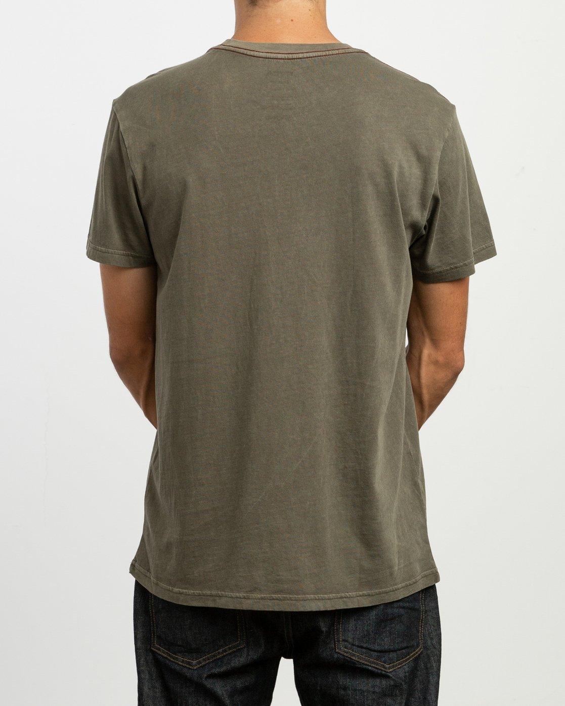 3 PTC 2 Pigment - T-Shirt pour Homme Vert H1KTRCRVP8 RVCA