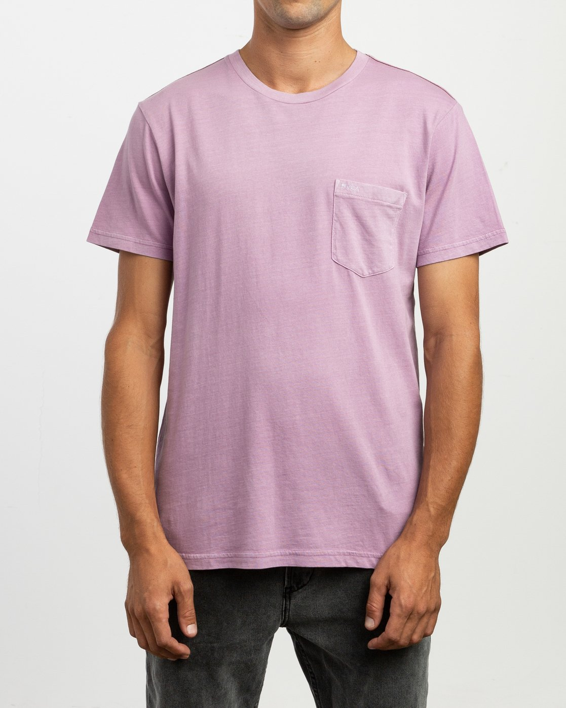 1 Ptc 2 Pigment Knit Top Purple H1KTRCRVP8 RVCA