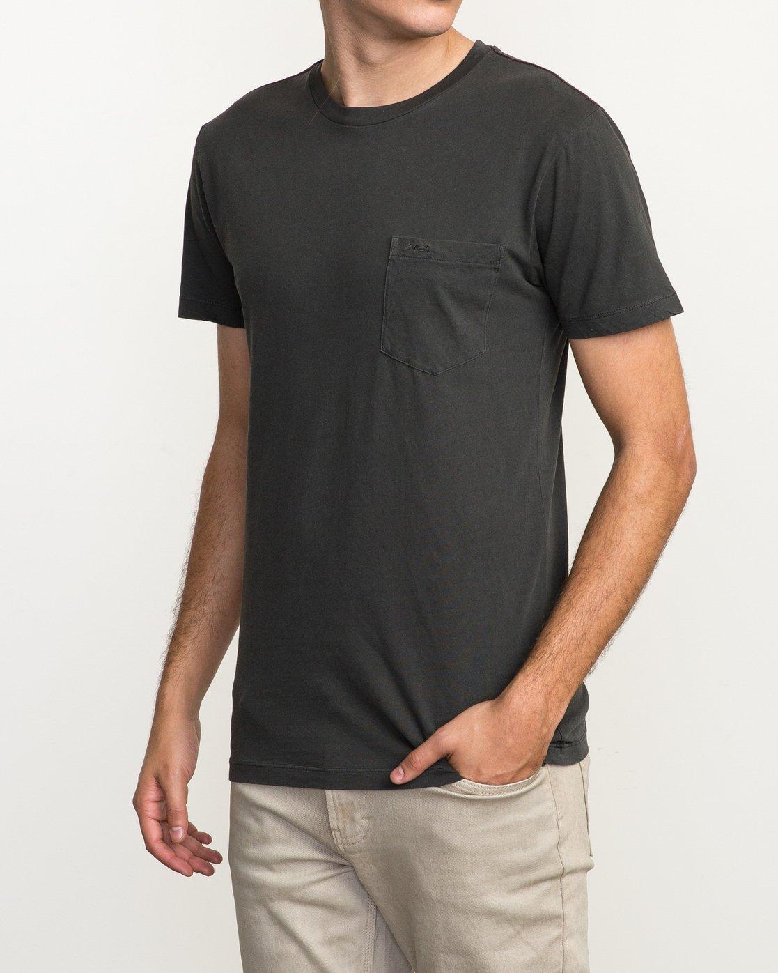 2 PTC 2 Pigment - T-Shirt pour Homme  H1KTRCRVP8 RVCA