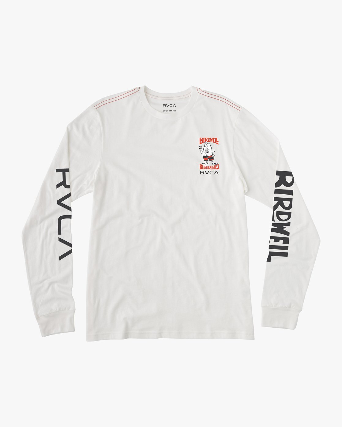 0 COLLAB 02 LS White H1LSBARVP8 RVCA