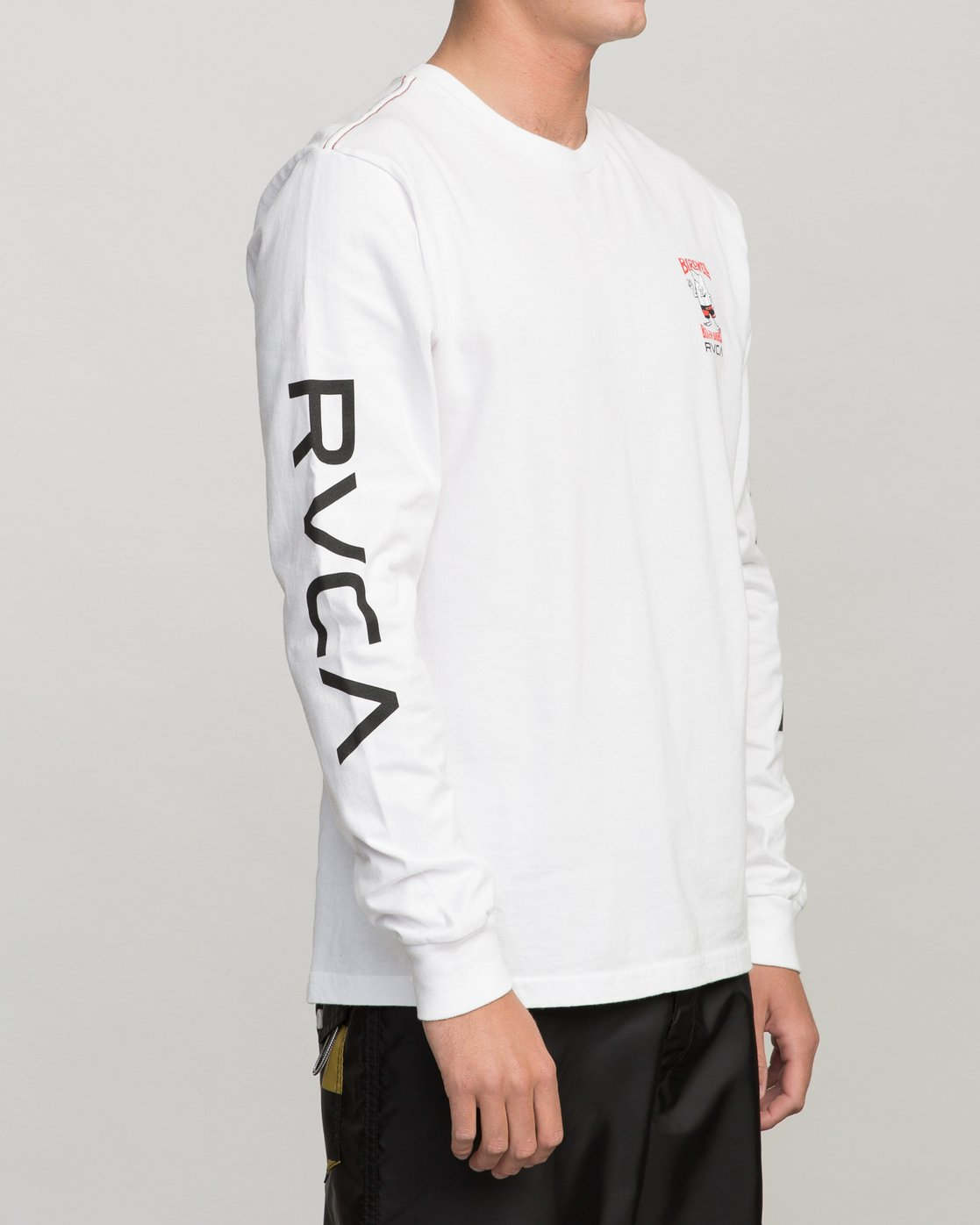 4 COLLAB 02 LS White H1LSBARVP8 RVCA