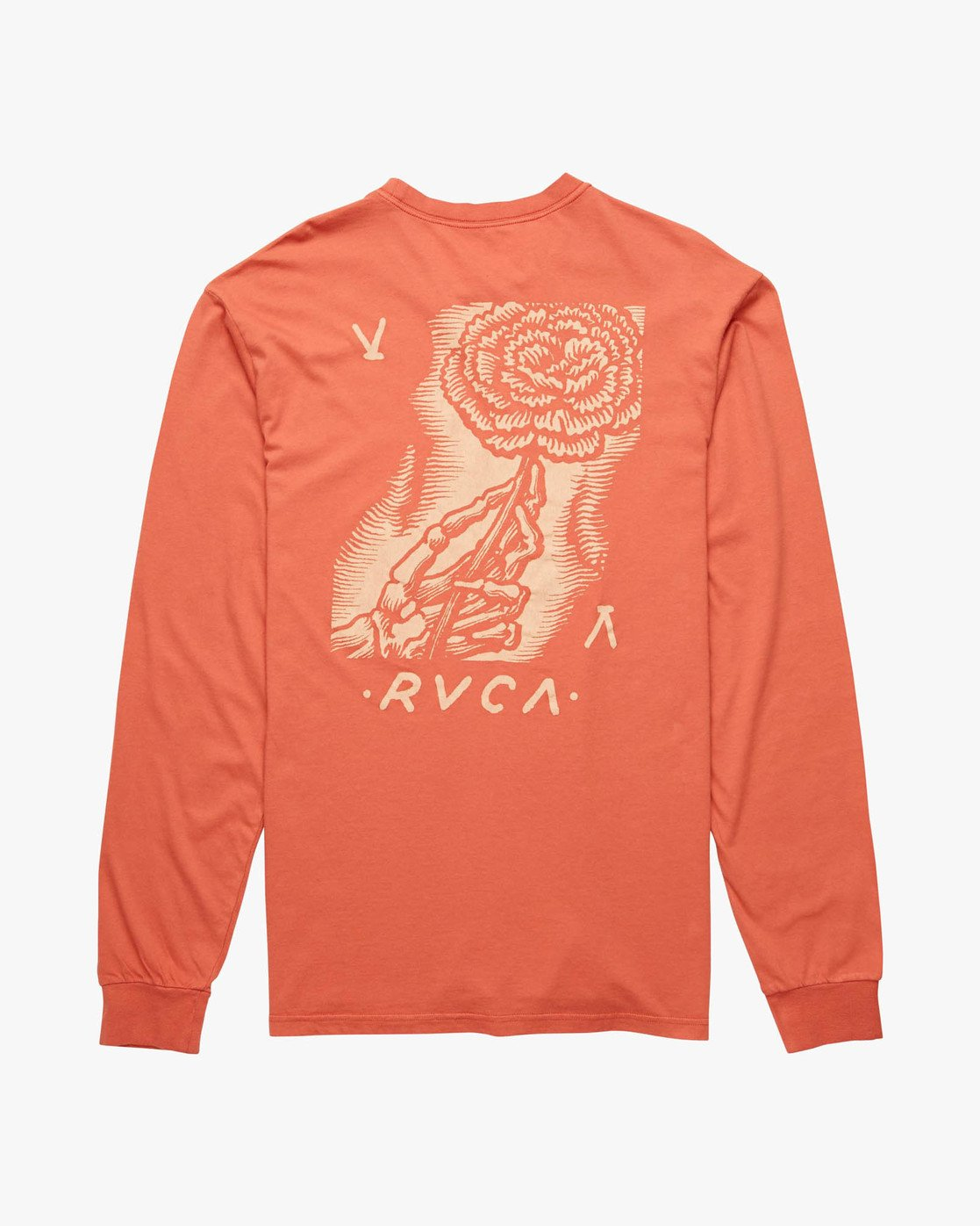 1 WOMENS DAY LS Red H1LSSGRVP8 RVCA