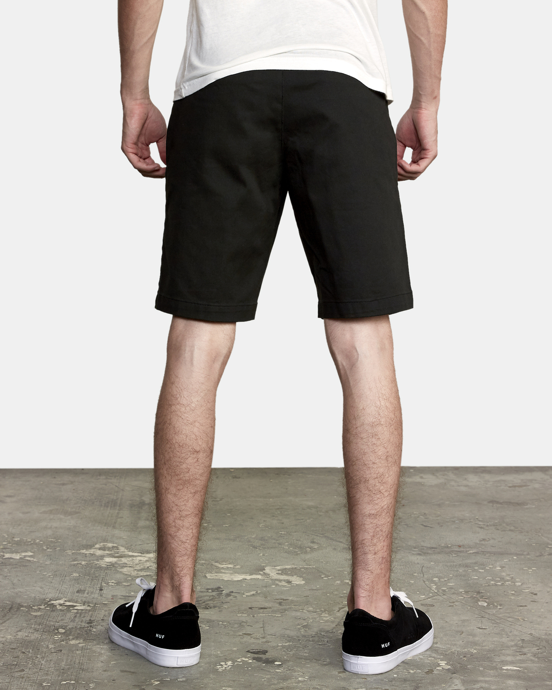 4 Weekend Stretch Short Black H1WKRZRVP8 RVCA