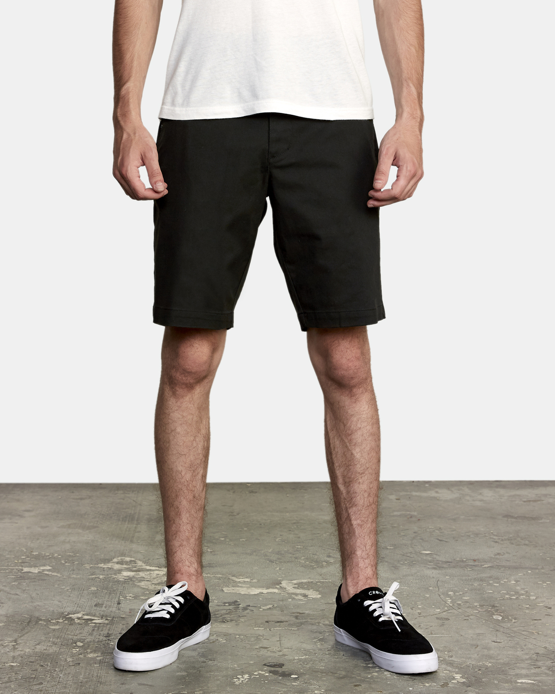 1 Weekend Stretch  - Stretch Shorts for Men Black H1WKRZRVP8 RVCA