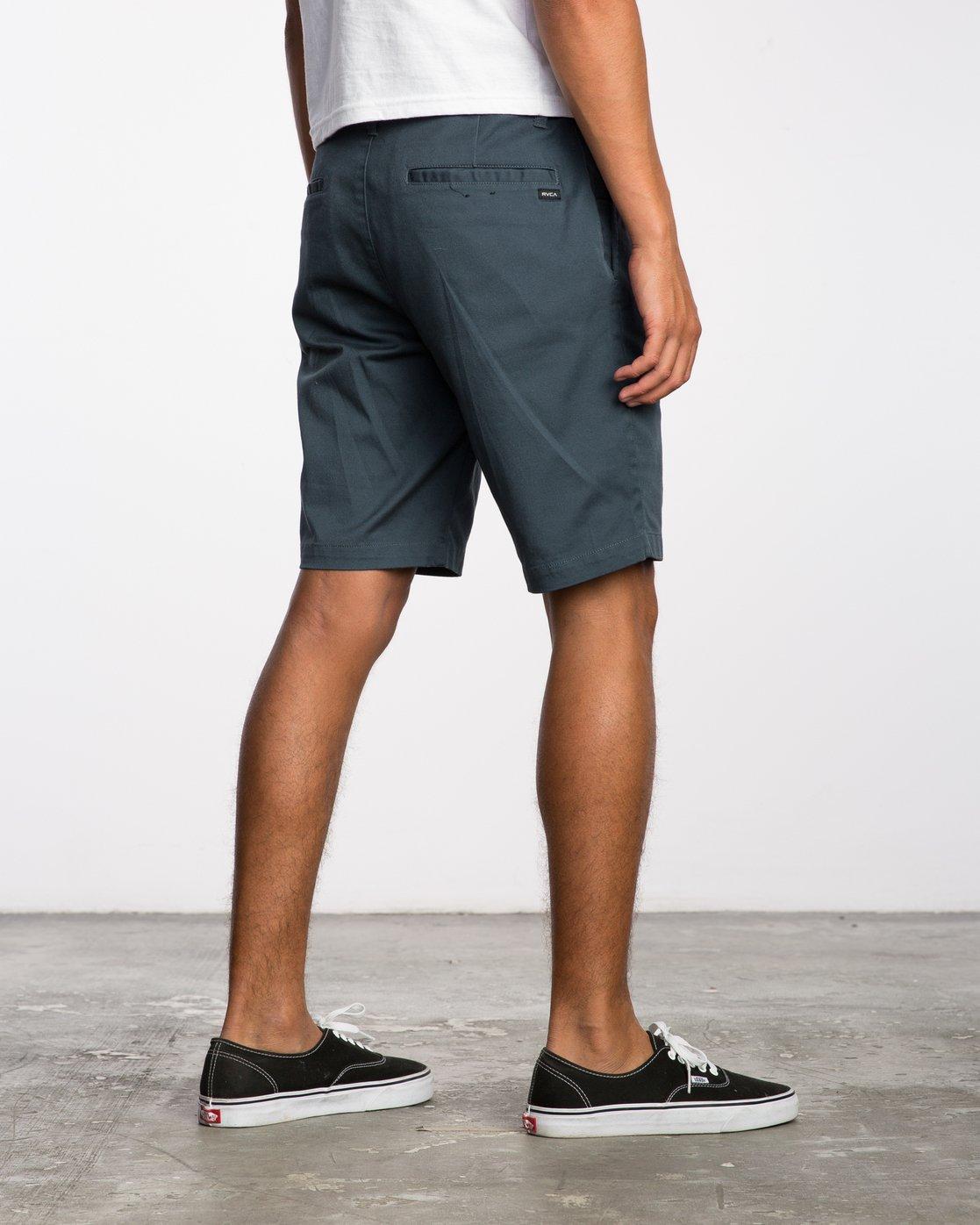 5 Weekend Stretch  - Pantalones cortos elásticos para Hombre Azul H1WKRZRVP8 RVCA