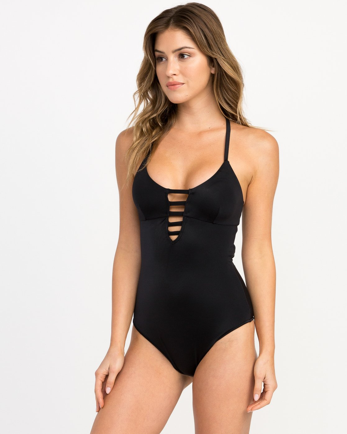 1 SOLID ONE PIECE  H3SWJARVP8 RVCA
