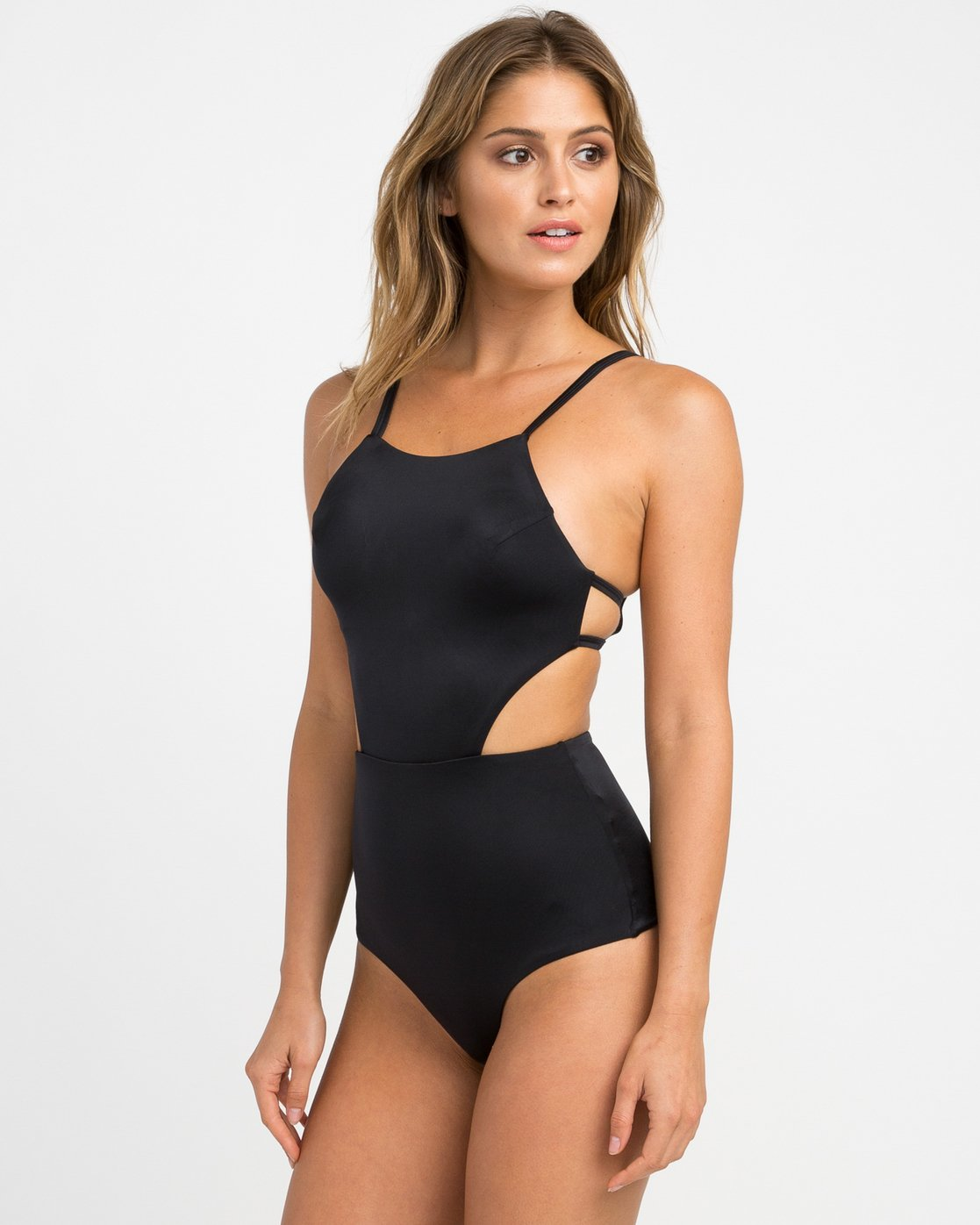 1 SOLID ONE PIECE Noir H3SWRTRVP8 RVCA