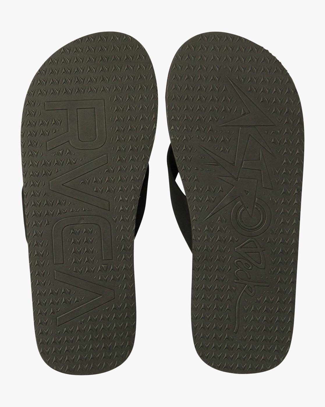 1 Wave Warrior Astrodeck - Sandal for Men Schwarz H5FFRARVP8 RVCA