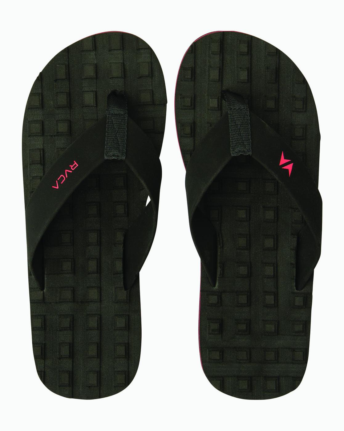 0 Wave Warrior Astrodeck - Sandal for Men Schwarz H5FFRARVP8 RVCA