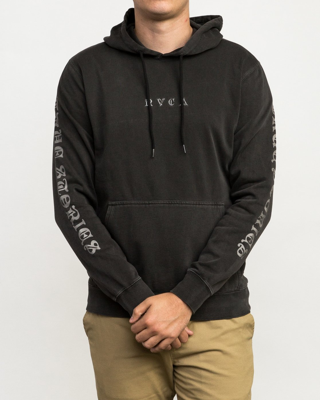 3 ELEVATION HOOD Black L1HORIRVF8 RVCA