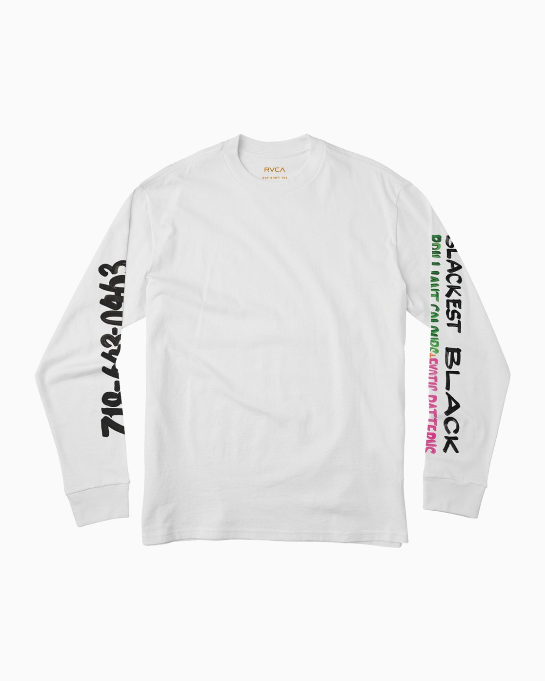 1 NURSE SIGN 2 LS White L1LSNBRVF8 RVCA