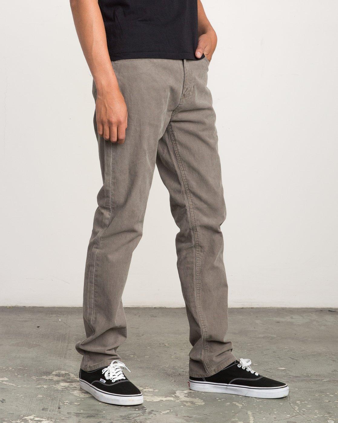 5 Campbell Bros Daggers - Pantalon en velours côtelé pour Homme  L1PNRDRVF8 RVCA