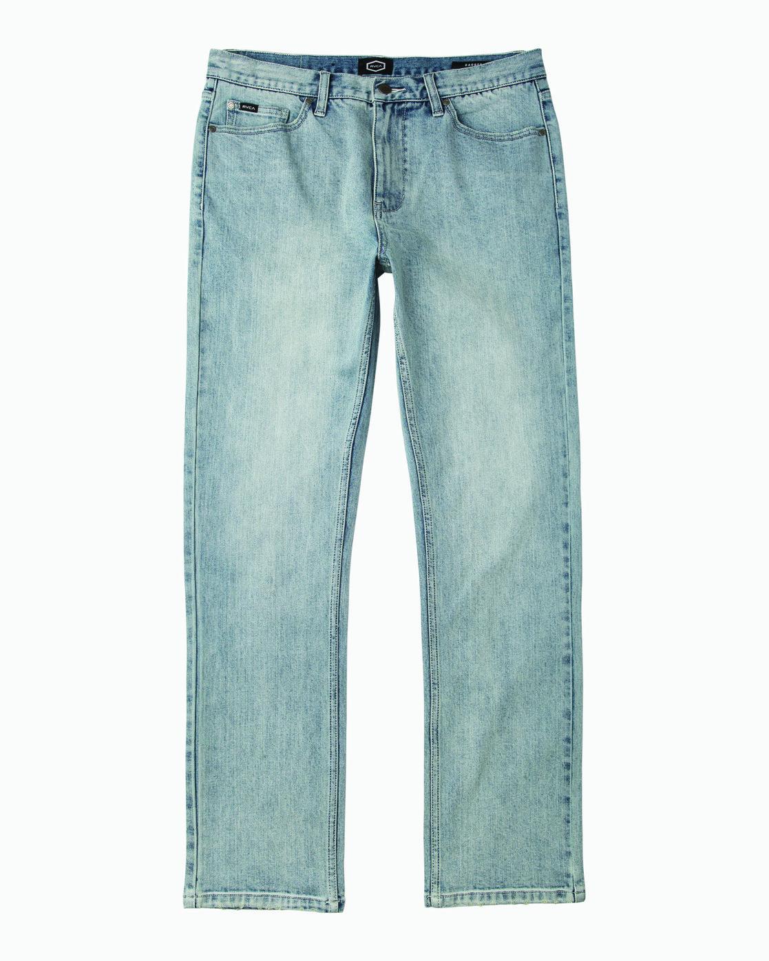 6 Daggers Slim-Straight Jeans Beige L1PNRJRVF8 RVCA