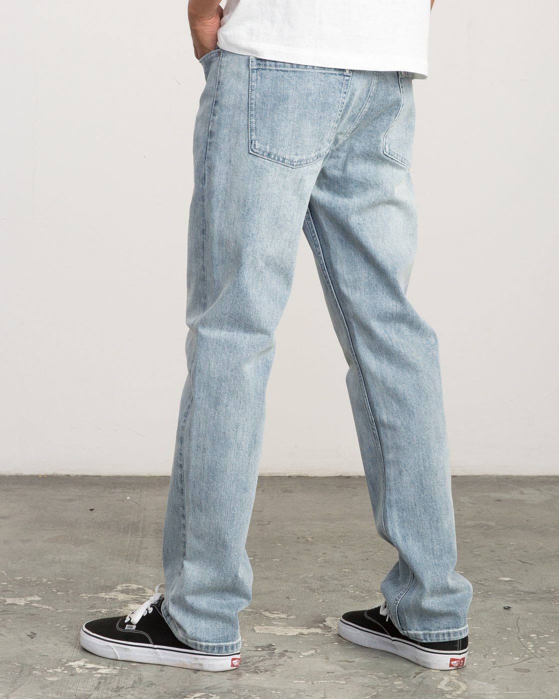 2 Daggers Slim-Straight Jeans Beige L1PNRJRVF8 RVCA