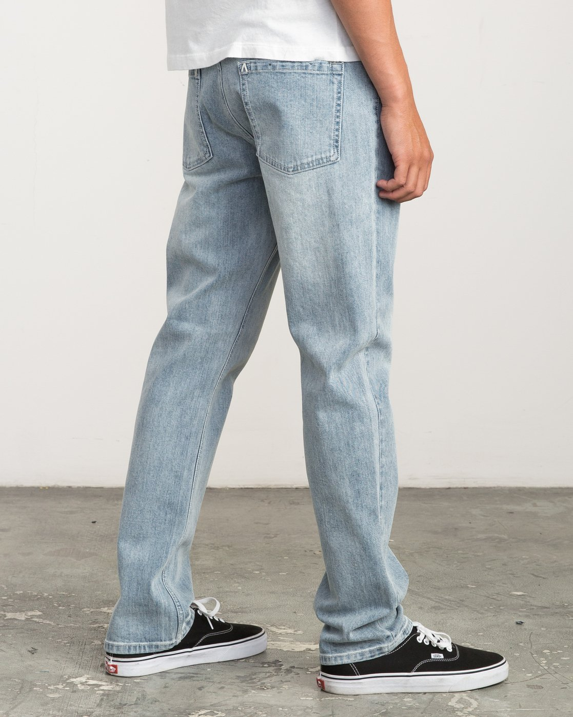 4 Daggers Slim-Straight Jeans Beige L1PNRJRVF8 RVCA