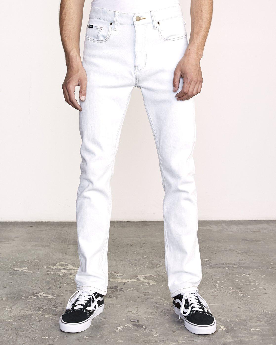 0 Daggers Denim  - Slim-Straight Jeans  L1PNRJRVF8 RVCA