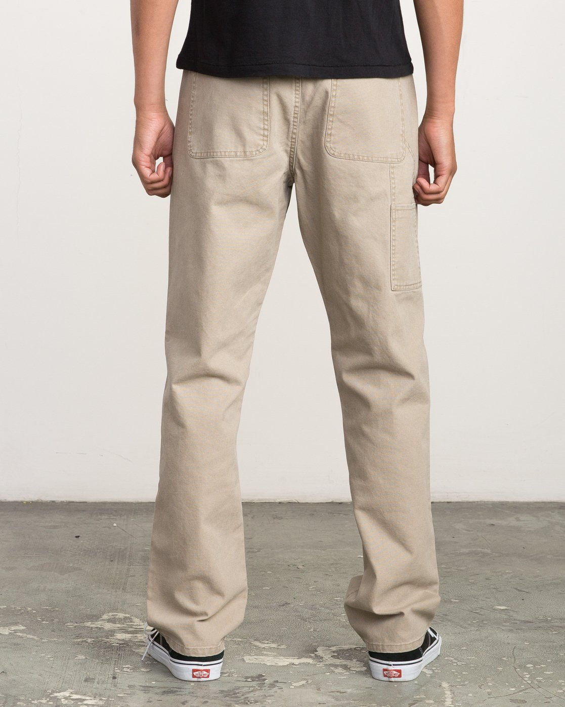 3 AR CANVAS PANT Green L1PTRERVF8 RVCA