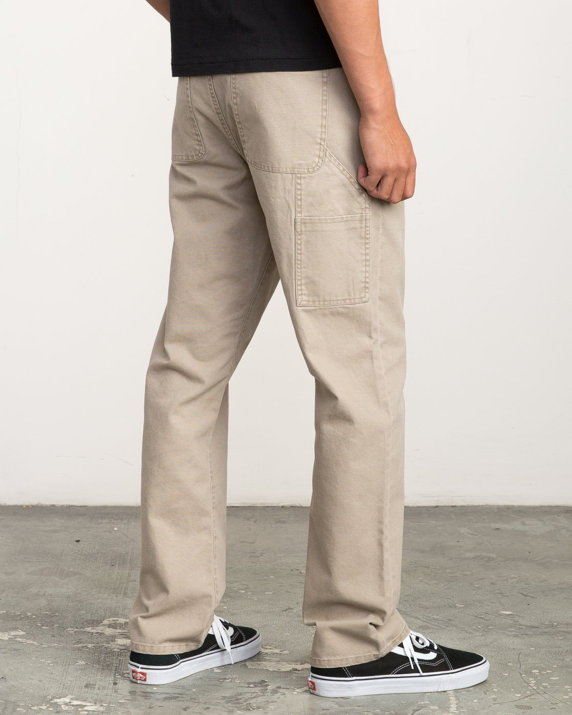 4 AR CANVAS PANT Green L1PTRERVF8 RVCA