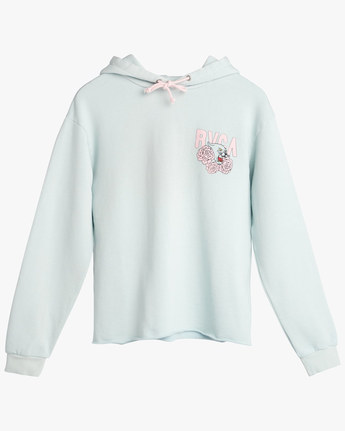 0 PANTHER N ROSES HOODY Blue L3HORJRVF8 RVCA