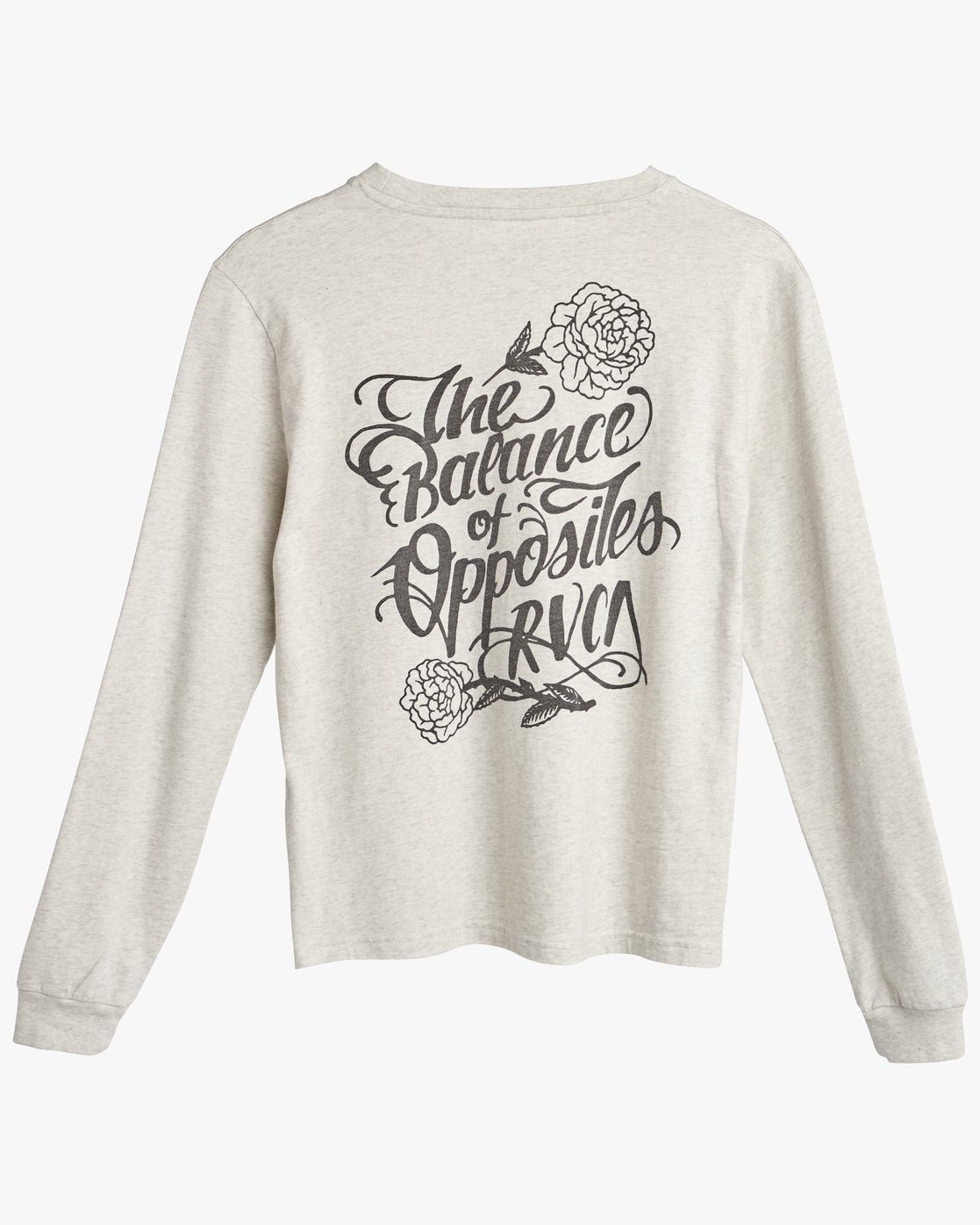 0 FLOWER POWER LS White L3LSRFRVF8 RVCA