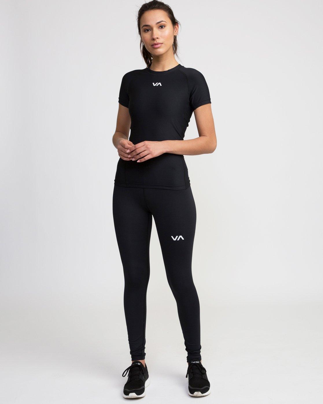0 VA Performance - Sports Legging for Women Black L4PTWARVF8 RVCA