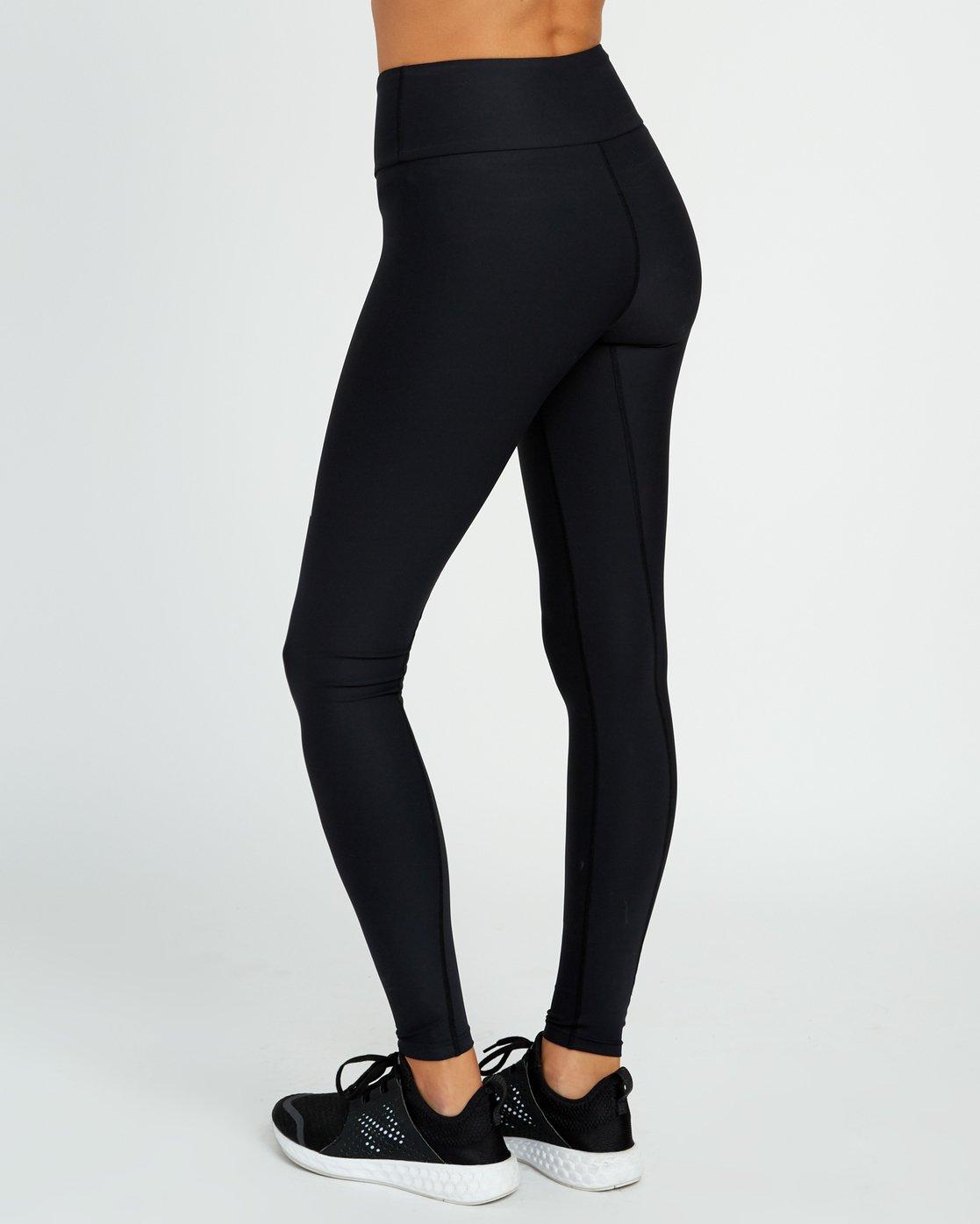 3 VA Performance - Sports Legging for Women Black L4PTWARVF8 RVCA