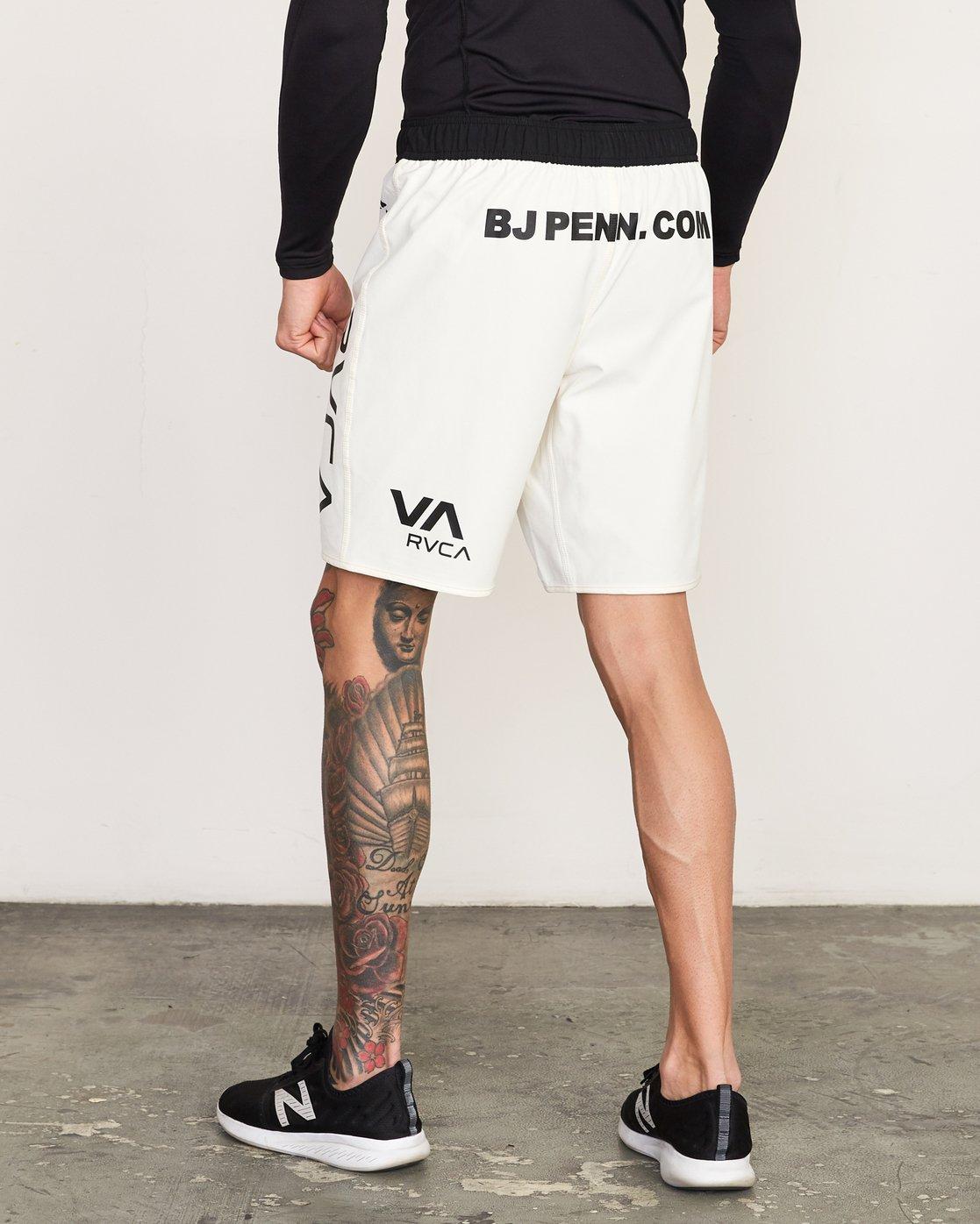 3 BJ Penn Legend - Short for Men White L4WKMLRVF8 RVCA
