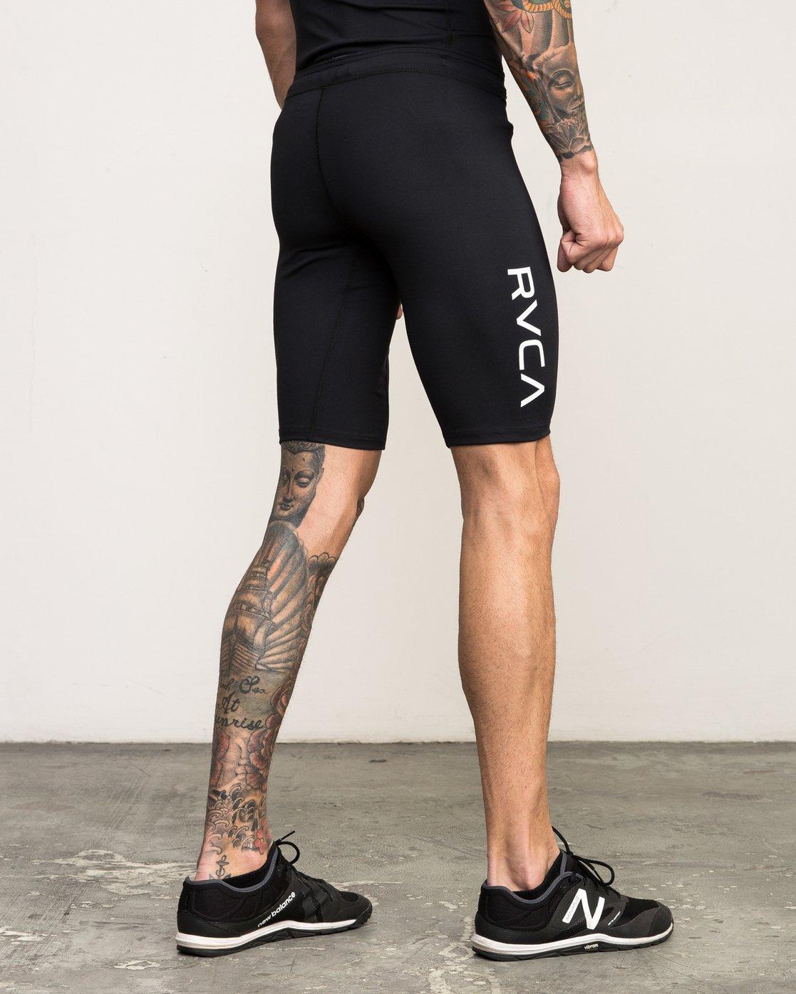 5 VA Performance - Sports Short for Men Black L4WKMMRVF8 RVCA