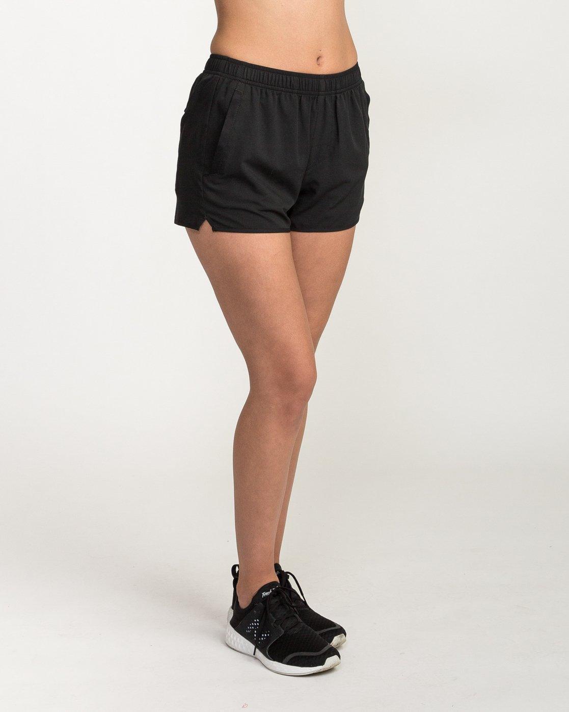 5 VA Sport Yogger Stretch - Short pour Femme Noir L4WKWCRVF8 RVCA