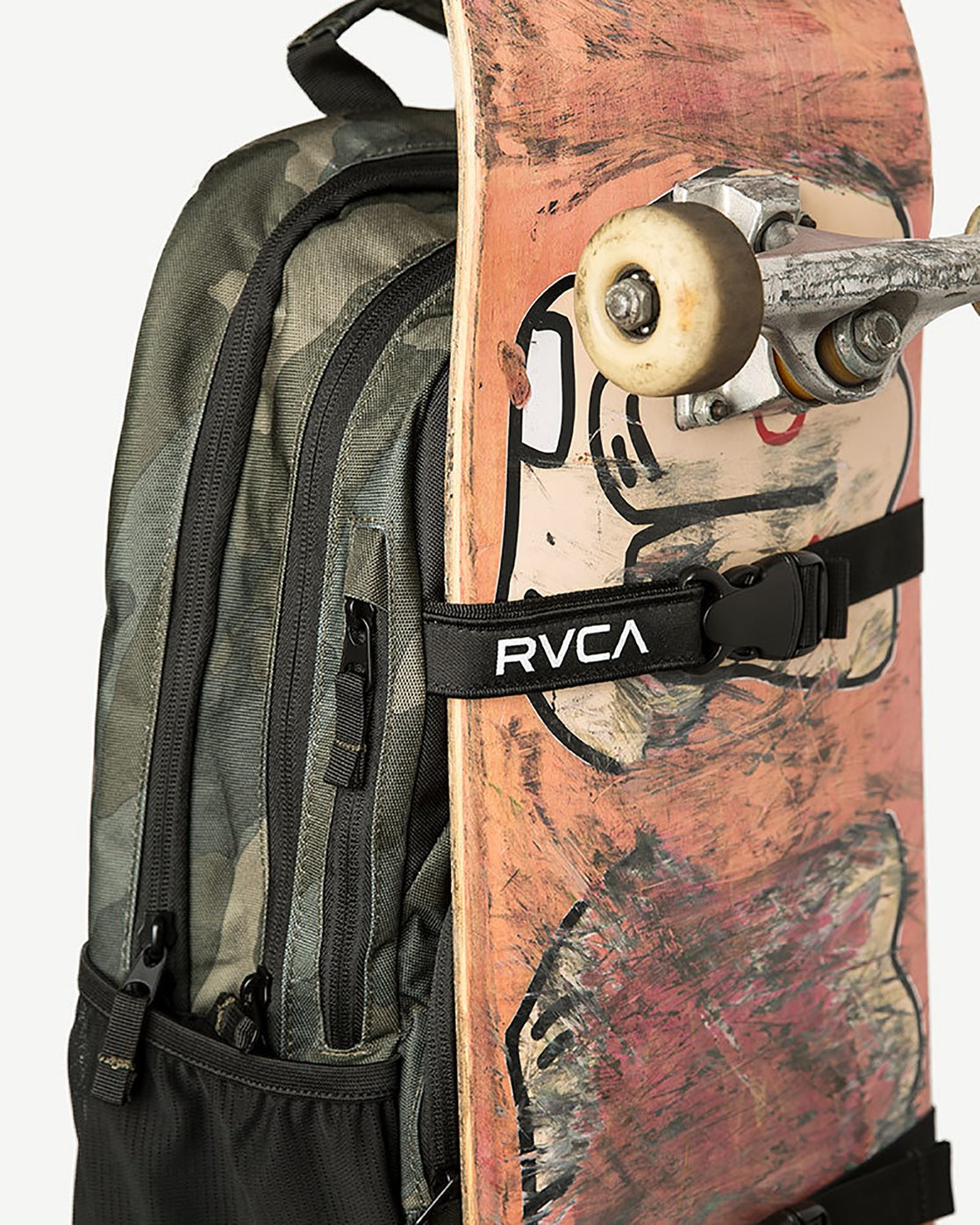 4 Estate Delux Backpack Camo L5BPRBRVF8 RVCA