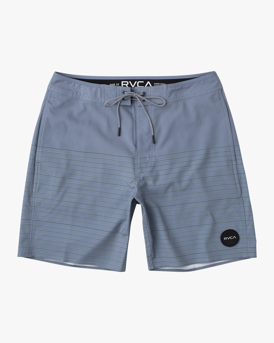 "0 CURREN BOARDSHORT 18"" Grey M1031RCT RVCA"