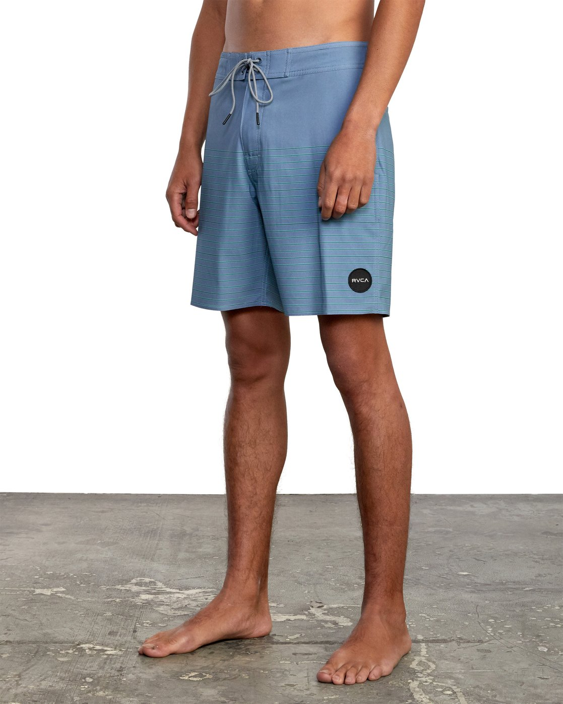 "4 CURREN BOARDSHORT 18"" Grey M1031RCT RVCA"